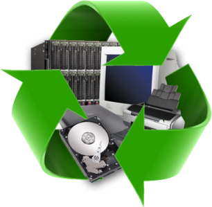 Computer and Electronic Recycling Bins